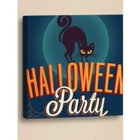 Decor Desing Halloween Kanvas Tablo Hl031