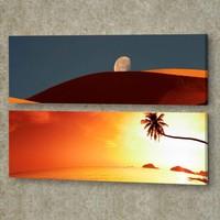 Decor Desing 2'li Panaromic Kanvas Tablo Ugu029