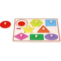 Kanz Ahşap Puzzle Geometrik Şekiller