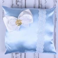 Küçük Rüyalar Yst016Mv Bebek Takı Yastığı Mavi