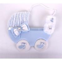 Küçük Rüyalar Kp016 Bebek Kapı Süsü Mavi