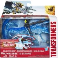 Transformers 4 Dinobot Bumblebee & Strafe