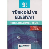 Gezegen Yayıncılık 9. Sınıf Türk Dili Ve Edebiyatı Konu Anlatımlı Testli