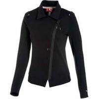 Puma Ferrari Sweat Jacket Black
