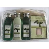 Juan-Paul Grand Beauty Bath Olive Bath Set Zeytin Yağı Özlü 5'Li Keseli Banyo Seti