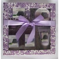 Juan-Paul Grand Beauty Bath Lavender Bath Set Lavantalı 5'Li Banyo Seti
