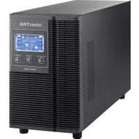Artronıc 2Kva On Line Ups, 1600Watt, 10 Pc 5Dk. 5Pc 15Dk. Beta-2Kva