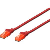 Dıgıtus Patch Kablo, U-Utp, Cat. 6, 5 Metre, Awg 26/7, Kırmızı Renk Dk-1614-050-R