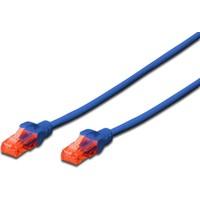 Dıgıtus Patch Kablo, U-Utp, Cat. 6, 10 Metre, Awg 26/7, Mavi Renk Dk-1614-100-B