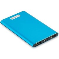 S-Lınk 4000Mah 1-2A Alüminyum Slim Powerbank Mavi Taşınabilir Pil Şarj Cihazı Ip-P22-M