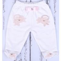Küçük Rüyalar Pnt-008 Süslü Bebek Patikli Pantolon