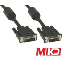 Mkd Mk-Dv02 Dvi 24+1 M/M (Erkek-Erkek) Kablo 1.5 Metre Mk-Dv02