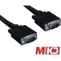 Mkd Mk-Vga03 15Pin Vga M/M (E-E) Monitör Kablo 3 Metre Mk-Vga03
