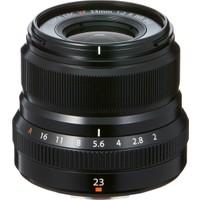 Fujifilm Fujinon XF 23mm F2 R WR Lens Siyah