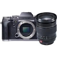Fujifilm X-T1 Graphite Gümüş + 16-55 Prof Kit 1