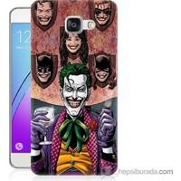 Bordo Samsung Galaxy A7 2016 Joker Keyfi Baskılı Silikon Kapak Kılıf