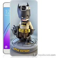 Bordo Samsung Galaxy A5 2016 Batman Baskılı Silikon Kapak Kılıf