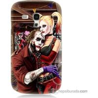 Bordo Samsung Galaxy S3 Mini Joker Ask Baskılı Silikon Kapak Kılıf