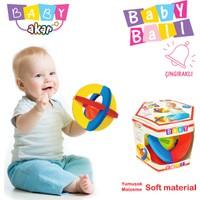 Akar Oyuncak Çıngıraklı Bebek Topu Kutuda
