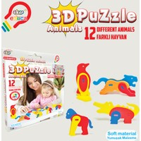 Akar Oyuncak 3D Puzzle Hayvanlar
