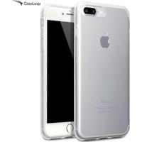 Case Leap iPhone 7 İnce Silikon Kılıf Şeffaf