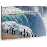 Fotografyabaskı Niagaraya Bakış Tablo 75 Cm X 50 Cm Kanvas Tablo Baskı