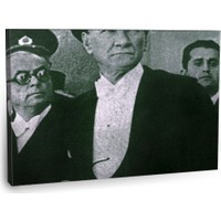 Fotografyabaskı Mustafa Kemal Atatürk Tablo 20 75 Cm X 50 Cm Kanvas Tablo Baskı