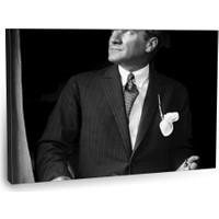 Fotografyabaskı Mustafa Kemal Atatürk Tablo 18 75 Cm X 50 Cm Kanvas Tablo Baskı