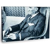 Fotografyabaskı Mustafa Kemal Atatürk Tablo 3 75 Cm X 50 Cm Kanvas Tablo Baskı