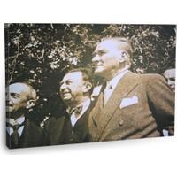 Fotografyabaskı Mustafa Kemal Atatürk Tablo 28 75 Cm X 50 Cm Kanvas Tablo Baskı
