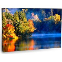 Fotografyabaskı Nehir Manzarası Tablo 75 Cm X 50 Cm Kanvas Tablo Baskı