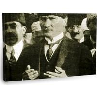 Fotografyabaskı Mustafa Kemal Atatürk Tablo 21 75 Cm X 50 Cm Kanvas Tablo Baskı