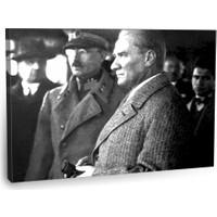 Fotografyabaskı Mustafa Kemal Atatürk Tablosu 8 75 Cm X 50 Cm Kanvas Tablo Baskı