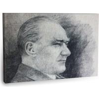 Fotografyabaskı Mustafa Kemal Atatürk Tablo 30 75 Cm X 50 Cm Kanvas Tablo Baskı