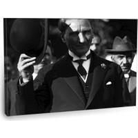 Fotografyabaskı Mustafa Kemal Atatürk Tablo 11 75 Cm X 50 Cm Kanvas Tablo Baskı