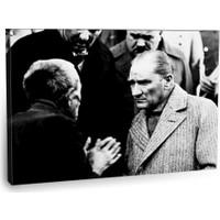 Fotografyabaskı Mustafa Kemal Atatürk Tablosu 10 75 Cm X 50 Cm Kanvas Tablo Baskı