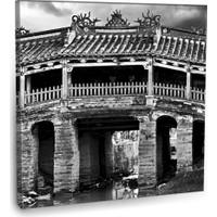 Fotografyabaskı Japon Köprüsü Tablo Vietnam 70 Cm X 70 Cm Kanvas Tablo Baskı