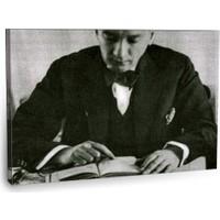 Fotografyabaskı Mustafa Kemal Atatürk Tablo 33 75 Cm X 50 Cm Kanvas Tablo Baskı