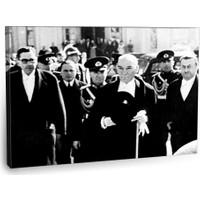 Fotografyabaskı Mustafa Kemal Atatürk Tablo 7 75 Cm X 50 Cm Kanvas Tablo Baskı