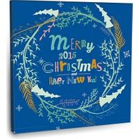 Fotografyabaskı Merry Christmas 2 Tablosu 70 Cm X 70 Cm Kanvas Tablo Baskı