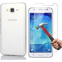 Kılıfshop Samsung Galaxy J3 2016 Silikon Kılıf Ekran Koruyucu