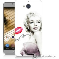 Teknomeg Casper Via A1 Kapak Kılıf Marilyn Monroe Baskılı Silikon