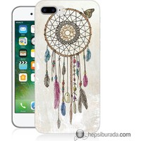 Teknomeg iPhone 7 Plus Kapak Kılıf Dream Catcher Baskılı Silikon