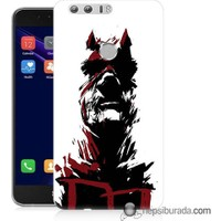 Teknomeg Huawei Honor 8 Kapak Kılıf Superhero Baskılı Silikon
