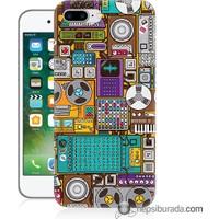 Teknomeg iPhone 7 Plus Kılıf Kapak Teknoloji Baskılı Silikon