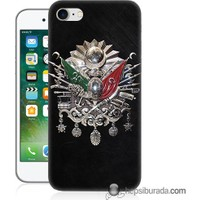 Teknomeg iPhone 7 Kapak Kılıf Osmanlı Baskılı Silikon