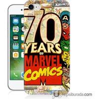 Teknomeg iPhone 7 Kılıf Kapak Marvel Karakterleri Baskılı Silikon