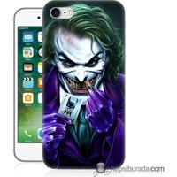 Teknomeg iPhone 7 Kapak Kılıf Joker Baskılı Silikon