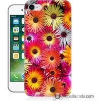 Teknomeg iPhone 7 Kılıf Kapak Kasımpatı Baskılı Silikon