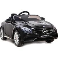 Baby&Toys Mercedes Akülü Araba 12V Mat Siyah